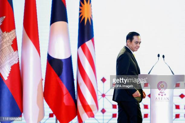 Prime Minister of Thailand Prayuth Chanocha attends the Opening Ceremony 34th ASEAN Summit in Bangkok The ASEAN Summit is a biannual meeting held by...