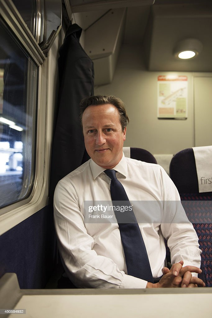 David Cameron, Red magazine UK, November 1, 2013