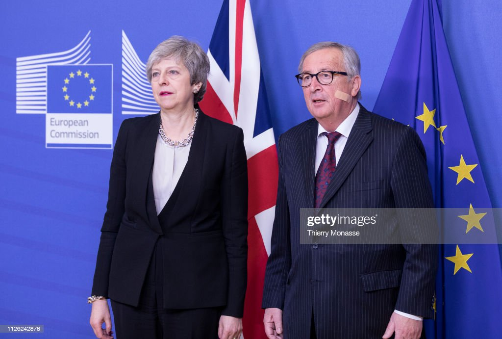 BEL: British PM Theresa May Visits Brussels For Further Brexit Talks