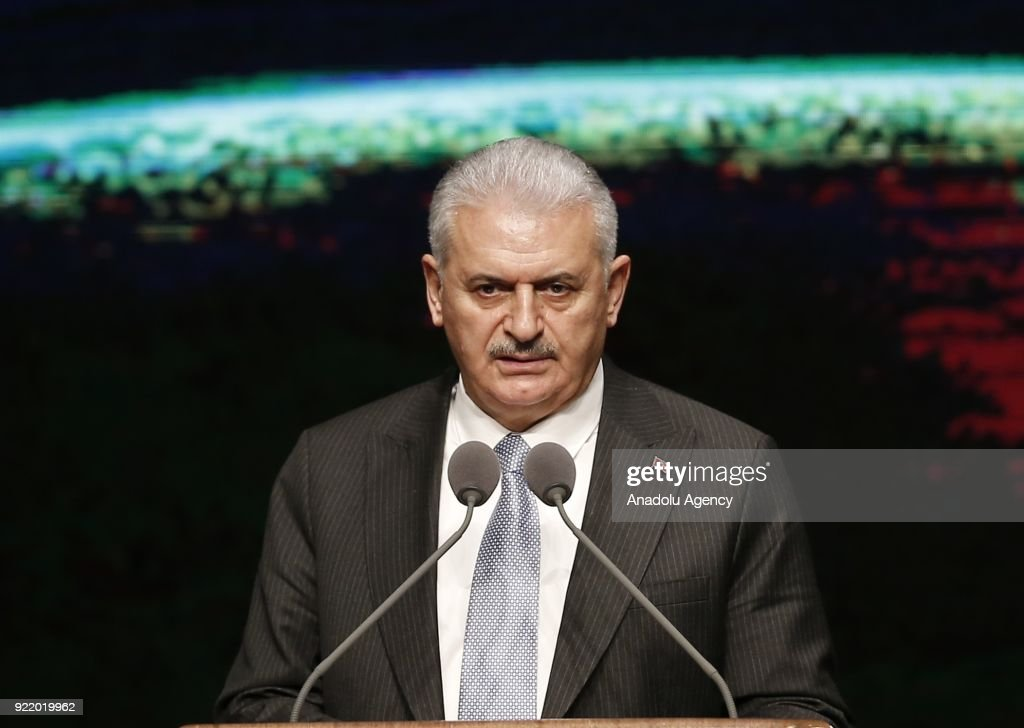 Prime Minister of Turkey Binali Yildirim... : News Photo