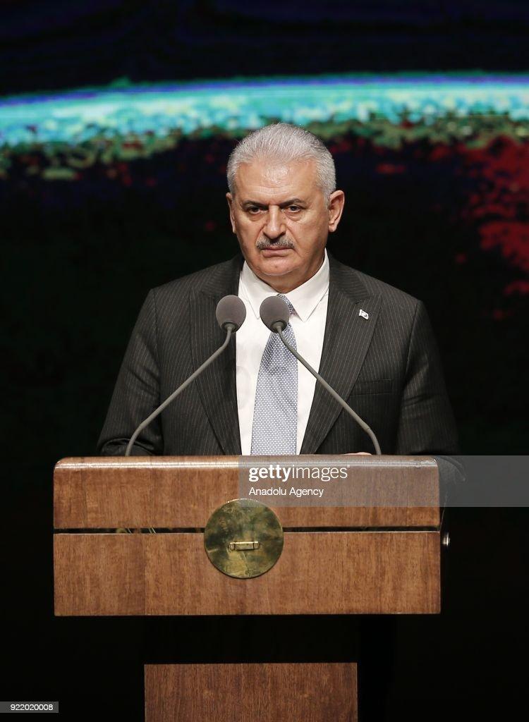 Prime Minister of Turkey Binali Yildirim... : News Photo