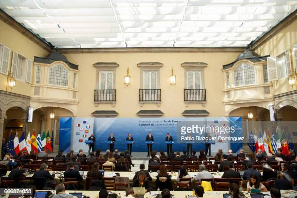 Prime Minister Portugal Antonio Costa Prime Minister Malta Joseph Muscat French President Francois Hollande Spanish Prime Minister Mariano Rajoy...