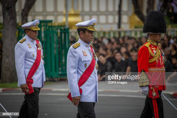 Prime Minister Prayut Chanocha is seen during the funeral ceremony of late Thailand's King Bhumibol Adulyadej Thailands Late King Bhumibol Adulyadej...