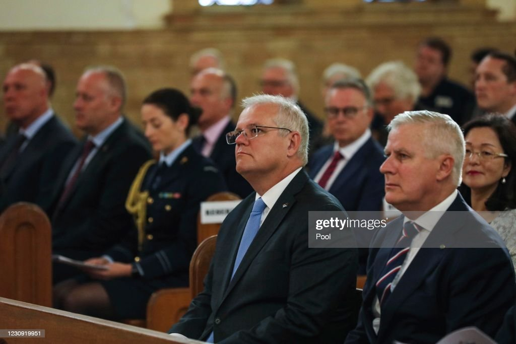 Leaders Meet Ahead Of Parliament Opening For Ecumenical Service : News Photo