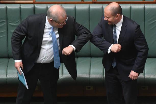 AUS: Parliament Sits During Coronavirus Pandemic