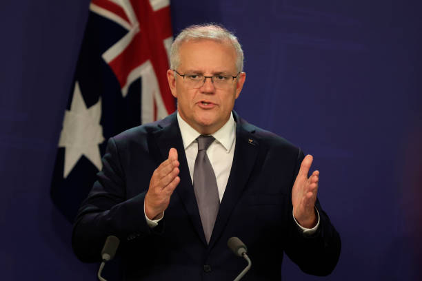 AUS: Prime Minister Scott Morrison Announces Review Into Workplace Culture At Parliament House