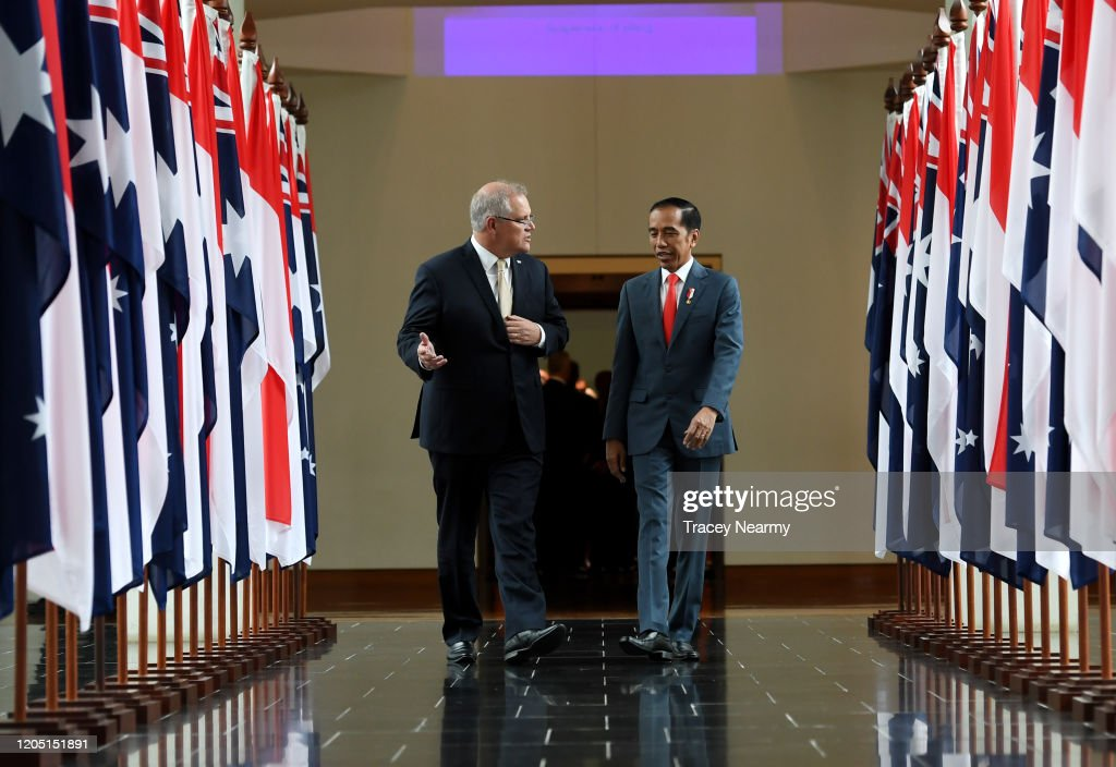 Indonesian President Joko Widodo Visits Australia : News Photo