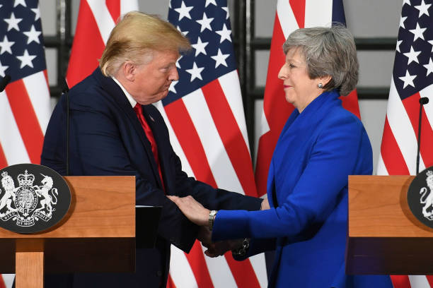 GBR: U.S. President Trump's State Visit To UK - Day Two