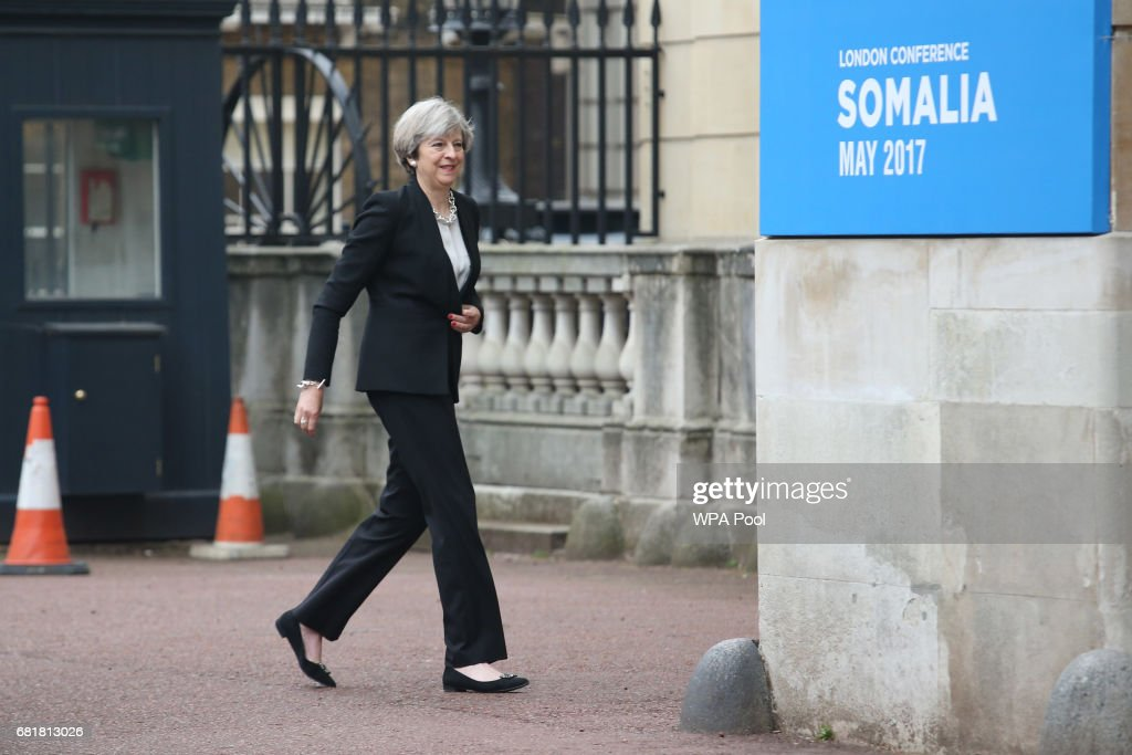 The UK Hosts The 2017 Somalia Conference : News Photo