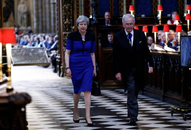 GBR: Service Of Thanksgiving To Remember The Life Of Lord Jeremy Heywood