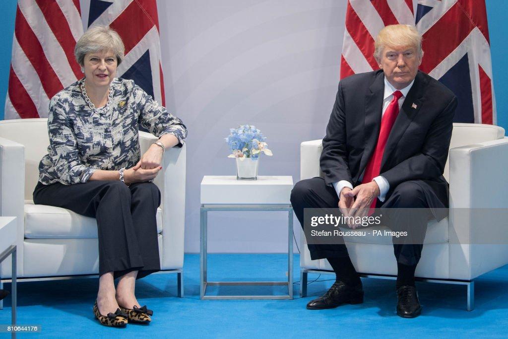 G20 meeting - Germany : News Photo