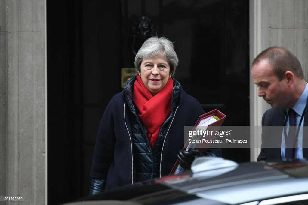 Prime Minister's Questions : News Photo