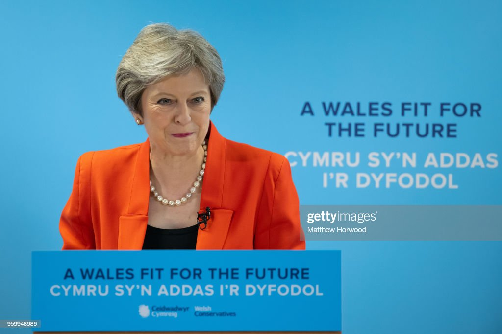 The Welsh Conservative Party Conference : News Photo
