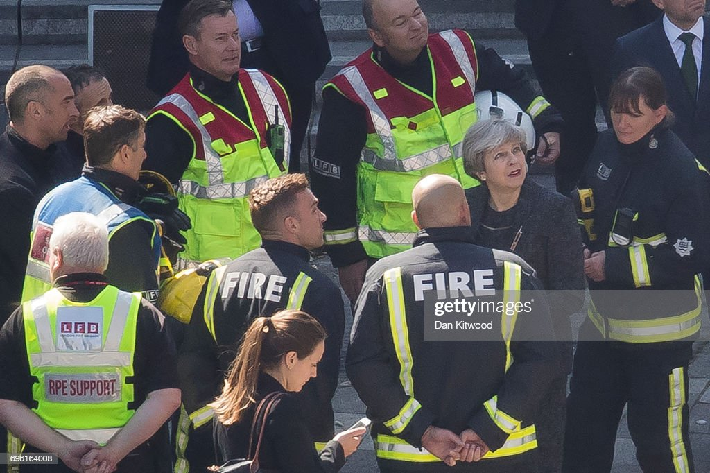 Dozens Remain Unaccounted For Following Grenfell Tower Fire In London : News Photo