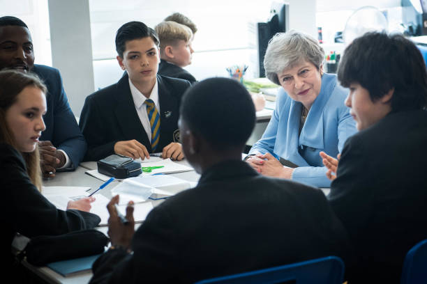 GBR: Prime Minister Theresa May Launches Mental Illness Prevention Plan