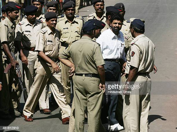 Prime suspect of the 1993 Mumbai bomb blasts case Yakub Abdul Razak Memon entering the Tada court on October 10, 2007 in Mumbai, India. Yakub Memon...