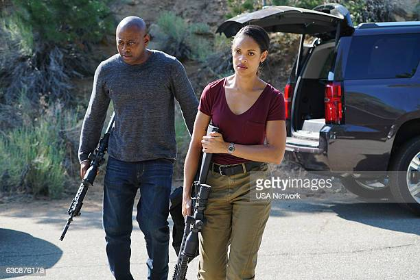 SHOOTER 'Primer Contact' Episode 110 Pictured Omar Epps as Isaac Johnson Cynthia AddaiRobinson as Agent Nadine Memphis