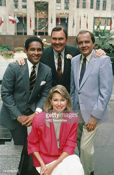 TODAY Primetime 1985 Pictured NBC News' Bryant Gumbel Jane Pauley Willard Scott Jim Palmer in 1985 Photo by Alan Singer/NBC/NBC NewsWire