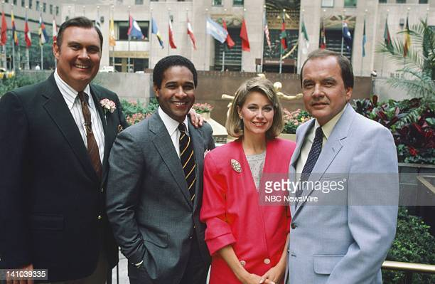 TODAY Primetime 1985 Pictured NBC News' Willard Scott Bryant Gumbel Jane Pauley Jim Palmer in 1985 Photo by Alan Singer/NBC/NBC NewsWire