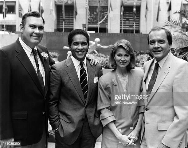 TODAY Primetime 1985 Pictured NBC News' Willard Scott Bryant Gumbel Jane Pauley John Palmer in 1985 Photo by Alan Singer/NBC/NBC NewsWire