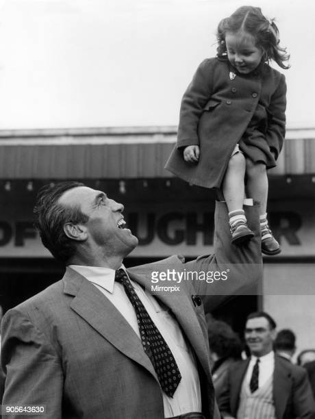 Primo Carnera professional wrestler also a former professional boxer meeting young fans in Manchester 20th March 1960