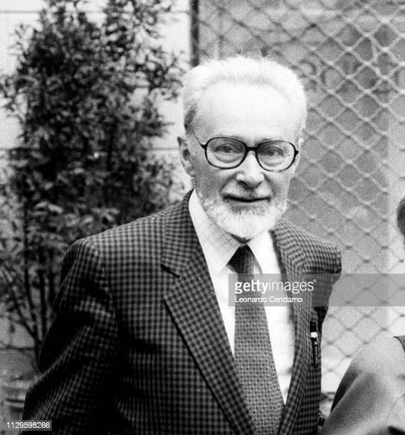 Primo Levi Italian writer and Holocaust survivorportrait Como Italy 1944