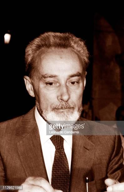 Primo Levi Italian writer NardÚ Italy December 1982