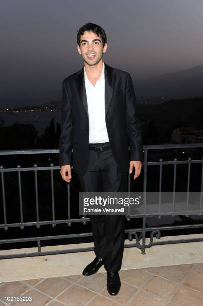 Primo Reggiani attends the Taormina Arte Award during the Taormina Film Fest 2010 on June 16 2010 in Taormina Italy