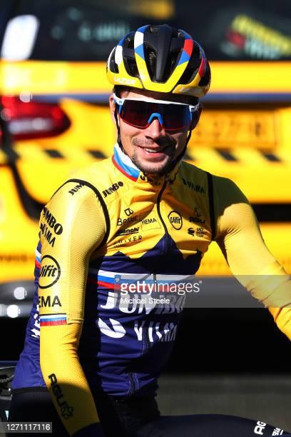 Primoz Roglic of Slovenia and Team Jumbo - Visma / during the 107th Tour de France 2020 - Stage 10, Training Team Jumbo-Visma on La Charente Maritime...