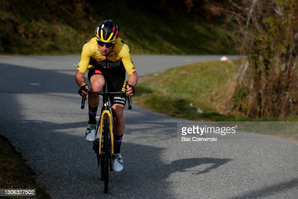 Primoz Roglic of Slovenia and Team Jumbo - Visma during the 79th Paris - Nice 2021, Stage 4 a 187,5km stage from Chalon-Sur-Saône to Chiroubles 702m...