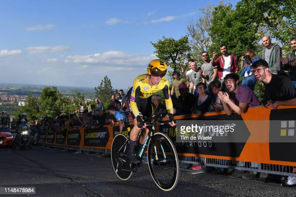 Primoz Roglic of Slovenia and Team Jumbo Visma / Fans / Public / during the 102nd Giro d'Italia 2019 Stage 1 a 8km Individual Time Trial from Bologna...