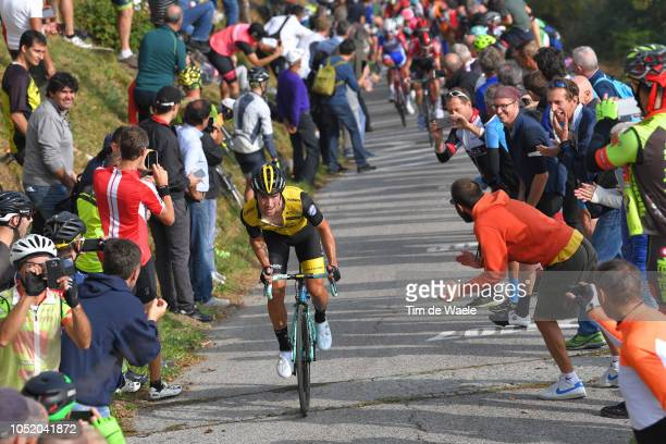Primoz Roglic of Slovenia and Team Lotto Nl - Jumbo / Colma di Soriano / during the 112th Il Lombardia 2018 a 241km race from Bergamo to Como / IL /...