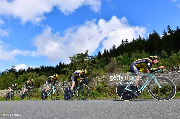 Primoz Roglic of Slovenia / Koen Bouwman of The Netherlands / Pascal Eenkhoorn of The Netherlands / Jos van Emden of The Netherlands / Neilson...
