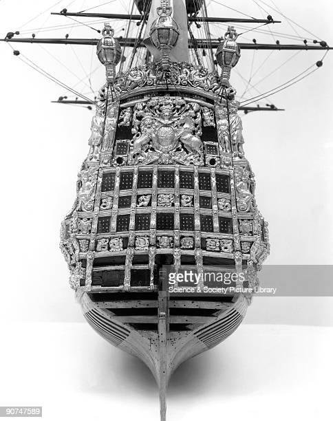 HMS 'Prince' 1670 This contemporary dockyard model of a FirstRate of the reign of Charles II is one of the finest still in existence She was launched...