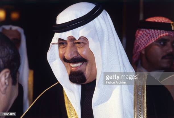 Prince Abdullah Ibn Abdul Aziz the Crown Prince of Saudi Arabia during his state visit to the United Kingdom