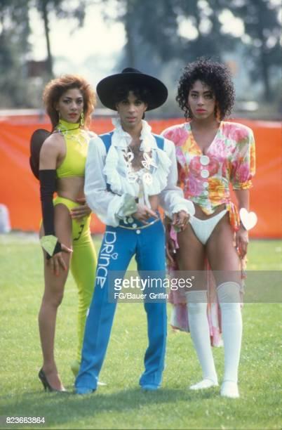 Prince after soundcheck Feyenoord Stadium practice field Netherlands on August 17 1988 in Rotterdam Netherlands 170612F1