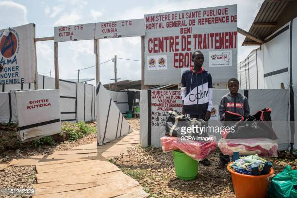Prince age 8 after being declared Ebolafree and being released from the Ebola treatment centre in Beni eastern Democratic Republic of the Congo The...