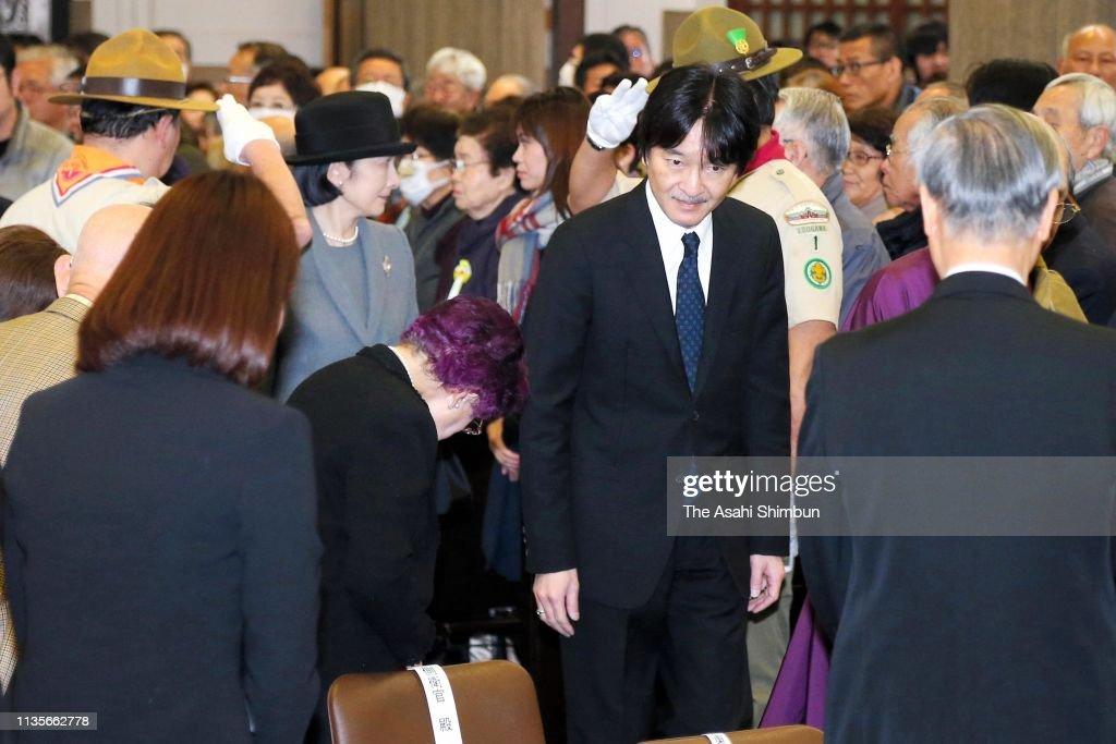 JPN: Japan Marks 74th Anniversary Of Bombing of Tokyo