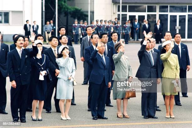 Prince Akishino Princess Kiko of Akishino Princess Sayako Prince Mikasa Princess Yuriko of Mikasa Prince Takamado and Princess Hisako of Takamado see...