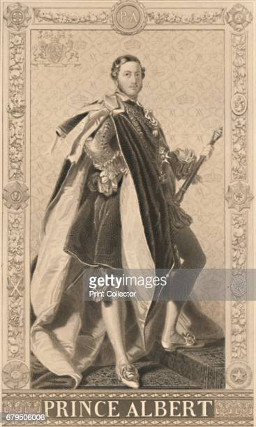 Prince Albert' 1886 Albert Queen Victoria's Prince Consort After Franz Xaver Winterhalter From Illustration of English and Scottish History Volume I...
