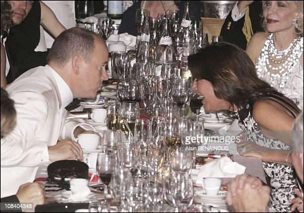 Prince Albert and Princess Caroline in Monaco on August 05 2005