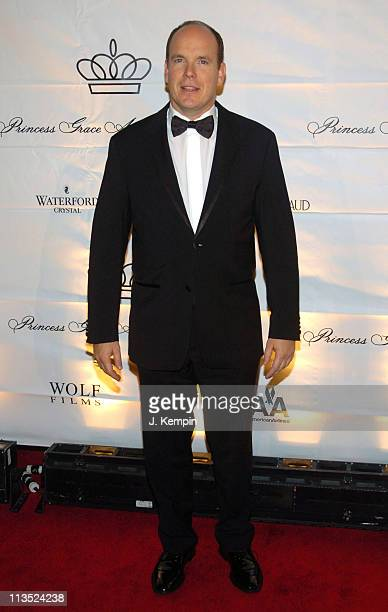 Prince Albert during The 2005 Princess Grace Awards at Cipriani 42nd Street in New York City New York United States