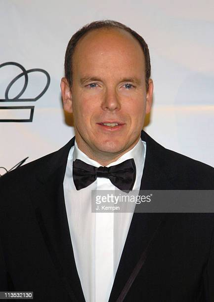 Prince Albert during The 2005 Princess Grace Awards at Cipriani 42nd Street in New York City, New York, United States.