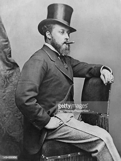 Prince Albert Edward Prince of Wales later King Edward VII circa 1870