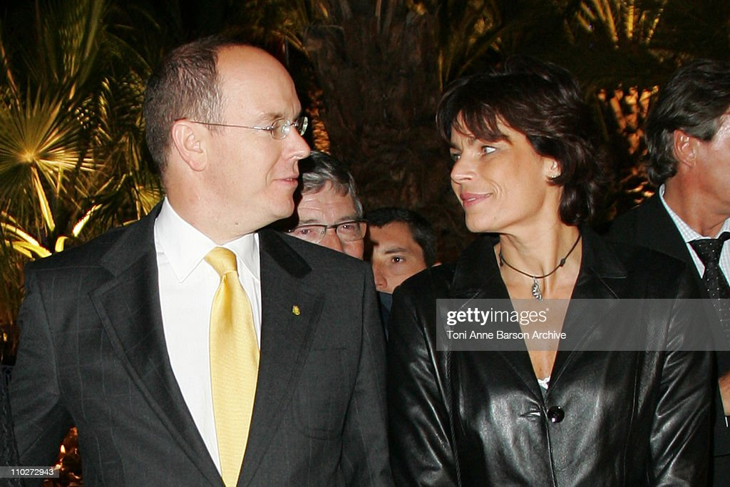 HSH Prince Albert II and Princess Stephanie of Monaco