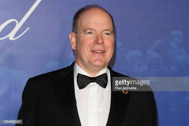 Prince Albert II attends the 2020 Hollywood For The Global Ocean Gala honoring HSH Prince Albert II Of Monaco at Palazzo di Amore on February 06 2020...