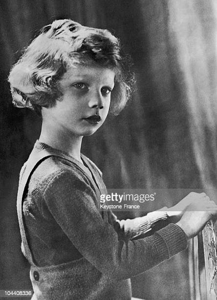 Prince ALBERT II King of Belgium in 1937 at the age of 5