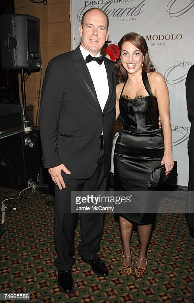HSH Prince Albert II Of Monaco and Alexa Ray Joel at the Cipriani 42nd Street in New York City New York