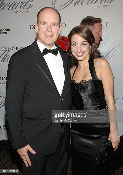HSH Prince Albert II Of Monaco and Alexa Ray Joel during The 2006 Princess Grace Awards Gala at Cipriani 42nd Street in New York City New York United...