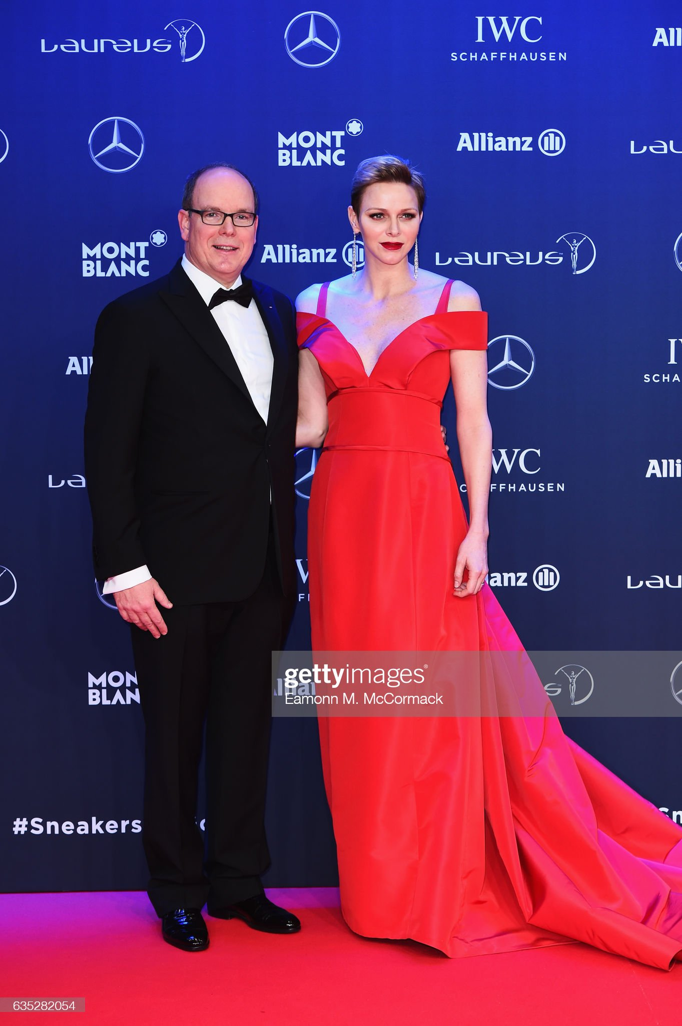 Red Carpet - 2017 Laureus World Sports Awards - Monaco : News Photo